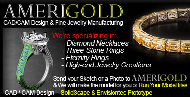 Custom Jewelry Bracelet, Necklace, Bangle Production at Amerigold Inc Fine Jewelry Manufacturer