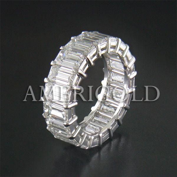 Diamond Wedding Band by Amerigold