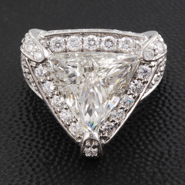 Trillion Diamond Best Designed Master Ring