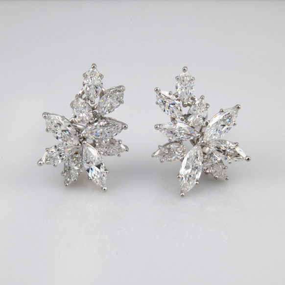 Custom Jewelry Design Diamond Earring