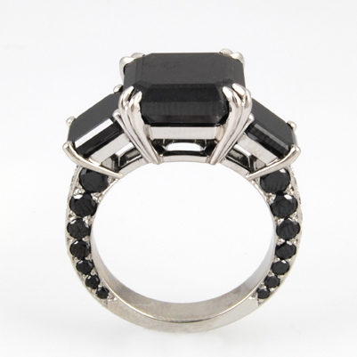 Black Diamond Special Order Ring