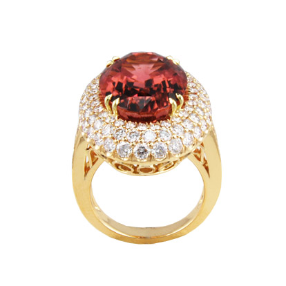 Ruby Pave Top Ring